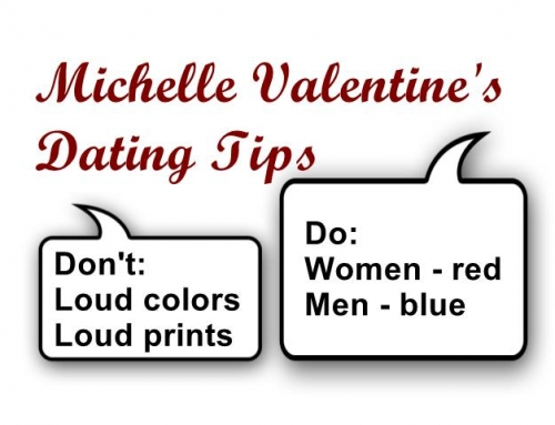 1 Minute First Date Tip:  Colors to Wear