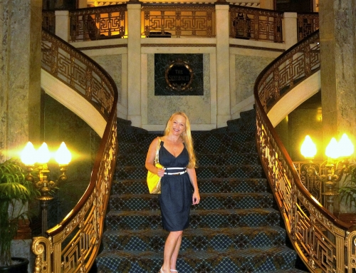 Romantic Historic Seelbach Hilton Hotel in Louisville, Kentucky