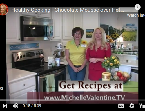 Chocolate Mousse over Fudge Brownie video recipe