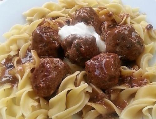 Stroganoff Meatballsrecipe