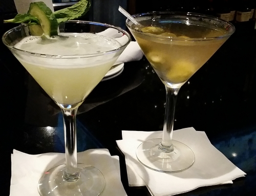 Martini Monday:  Cucumber and Dirty at Bar Louie