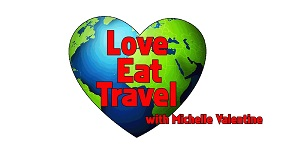 Michelle Valentine – Love Eat Travel TV show Logo