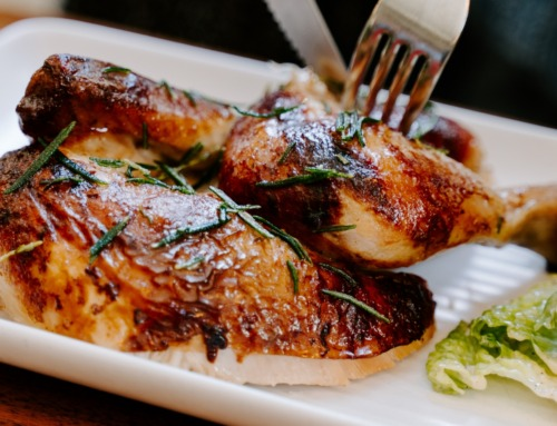 Garlic & Herb Goat Cheese Stuffed Chicken Breasts with Bacon Recipe