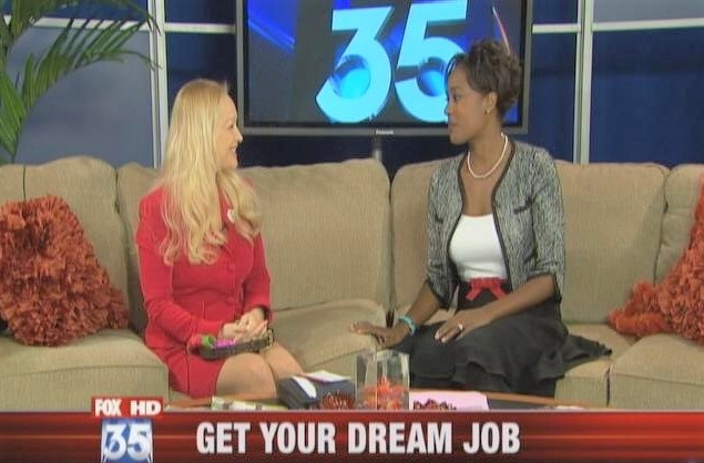 Michelle Valentine on FOX 35 TV News
