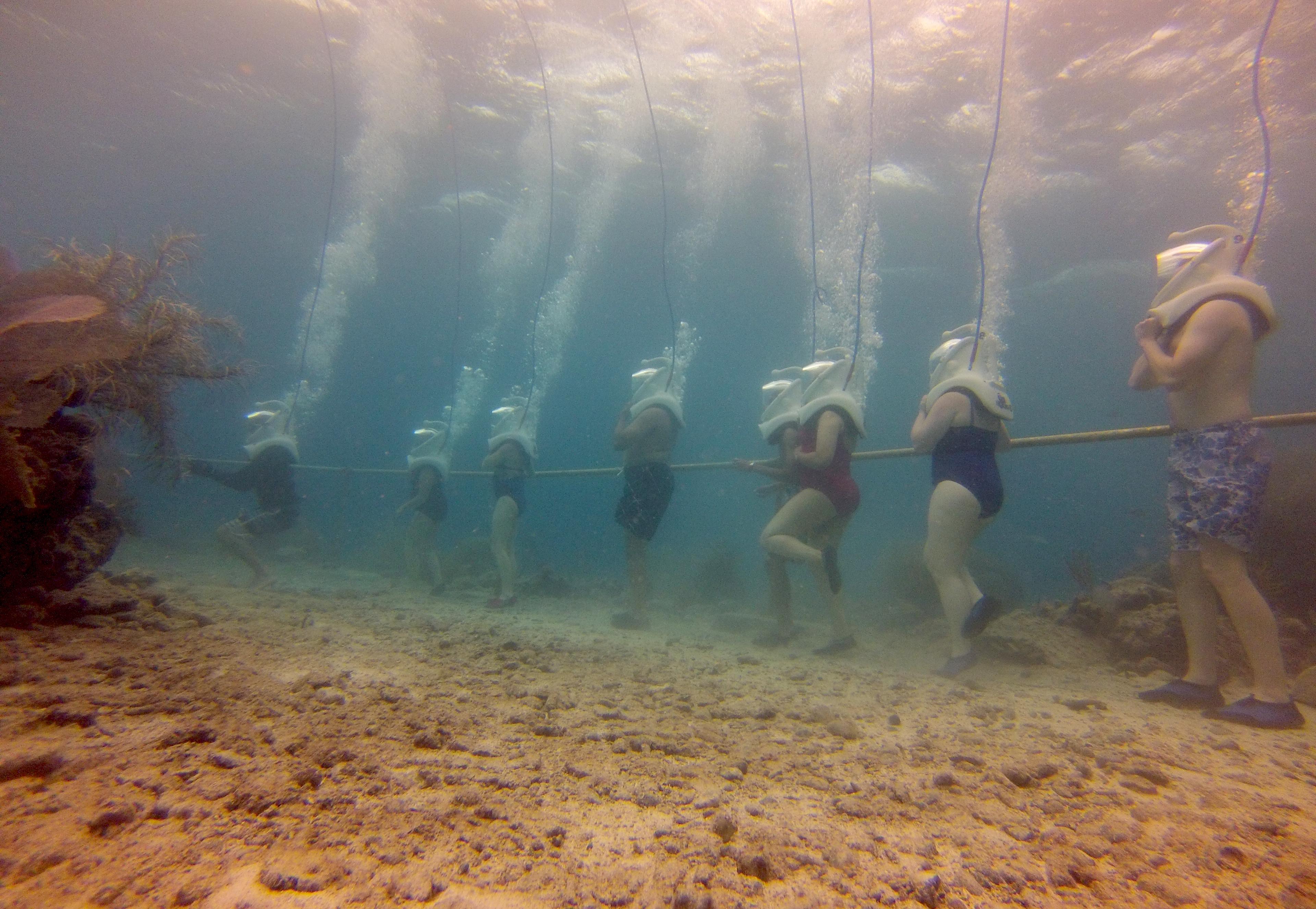 Walking on the Ocean Floor