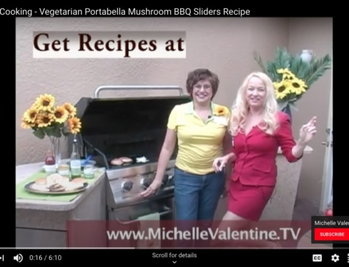 Healthy Cooking – Vegetarian Portabella Mushroom BBQ Sliders Video Recipe