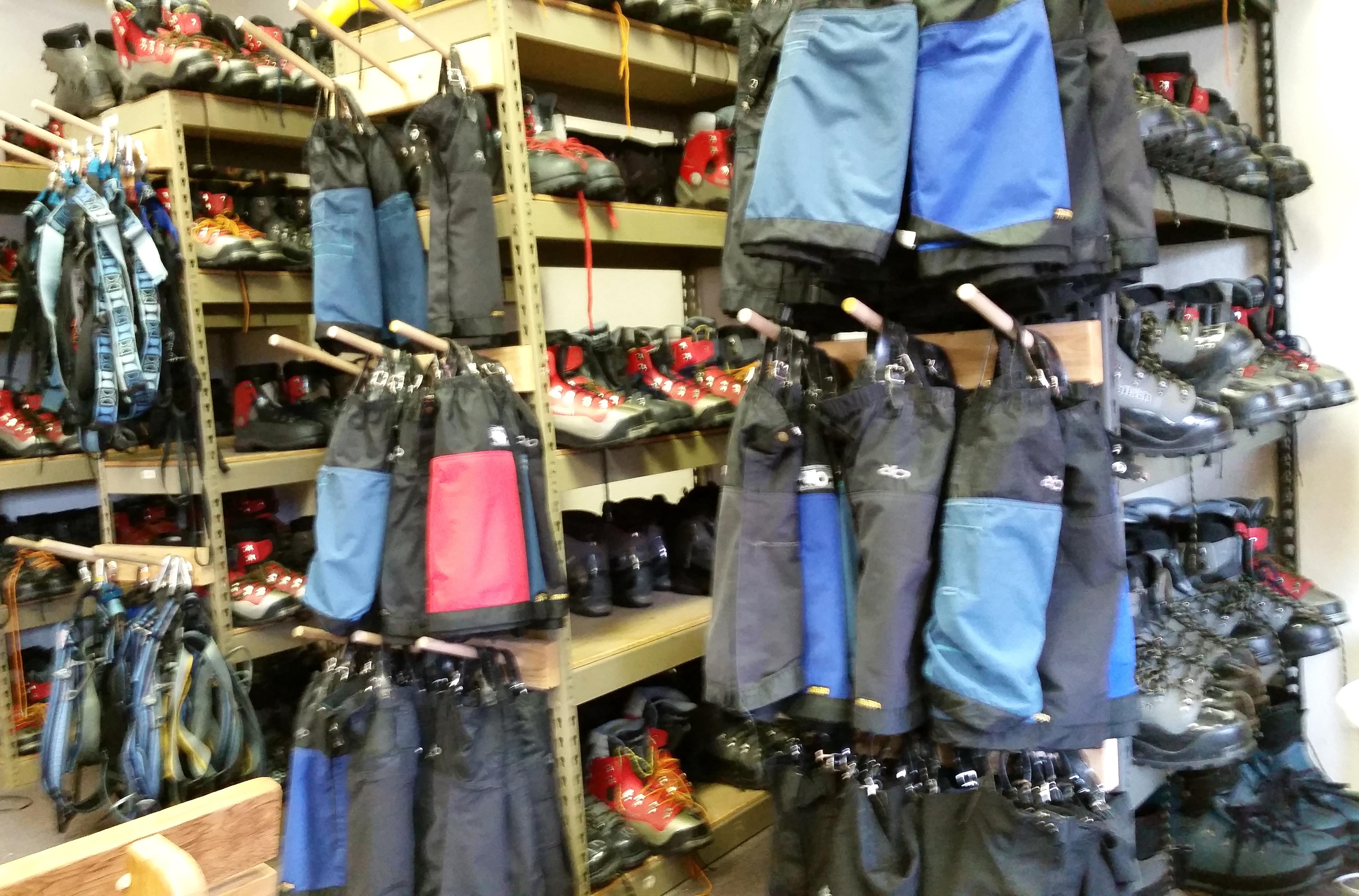 Gear Equipment When Climbing Glacier