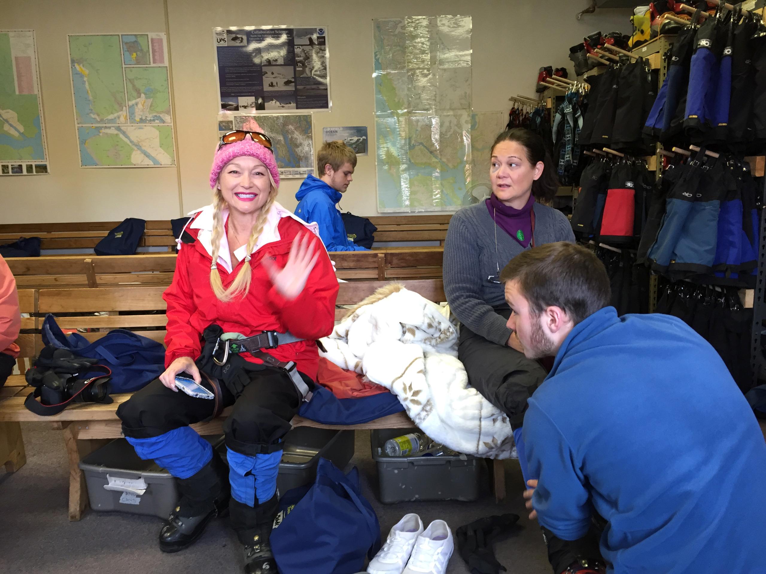 Alaska ice climbing gear