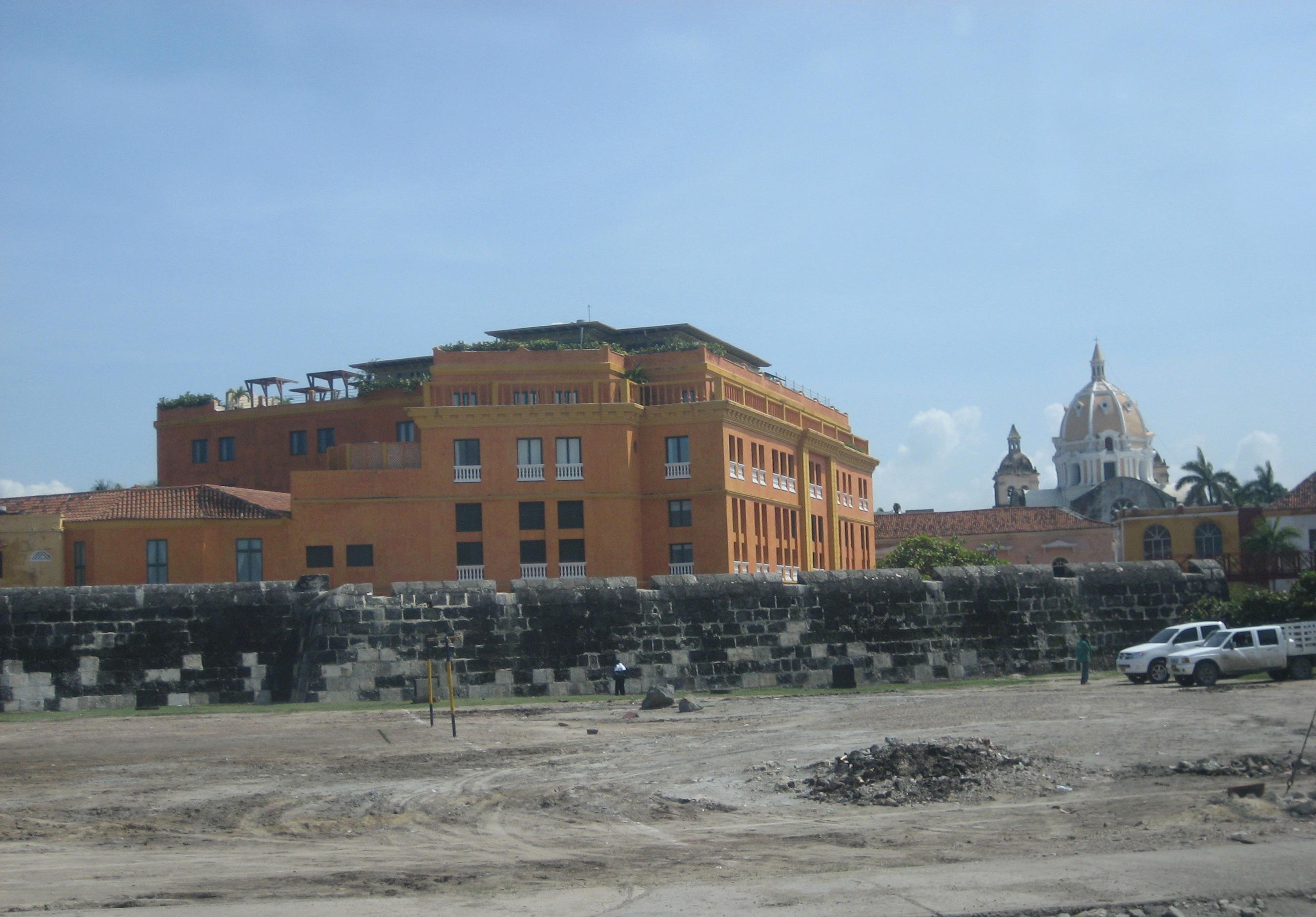 Historic Places Cartagena Columbia