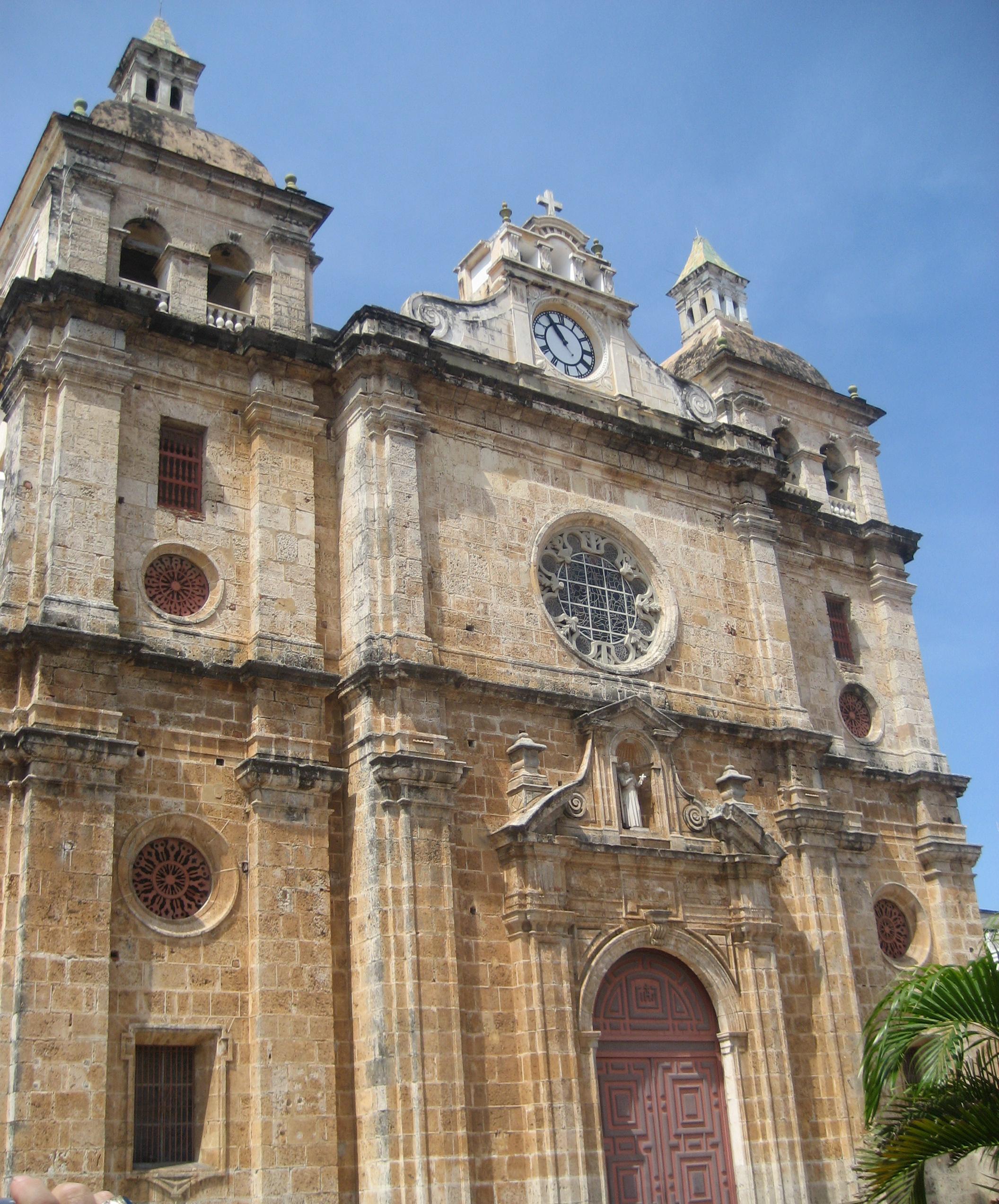 Historic Places Cartagena Columbia, Convento & Iglesia de San Pedro Claver