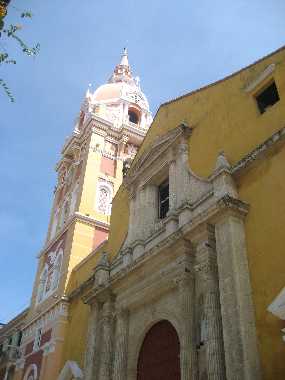 Historic Places Cartagena Columbia, Cartagena Catedral