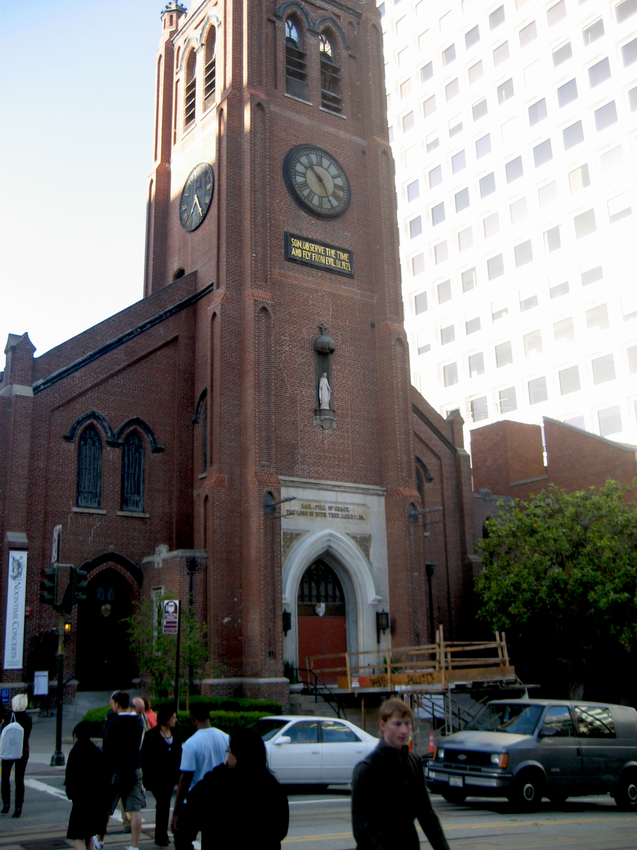 San Francisco's Chinatown, Old Saint Mary's Cathedral